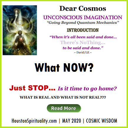 2020-5 MAY Dear Cosmos What Now?