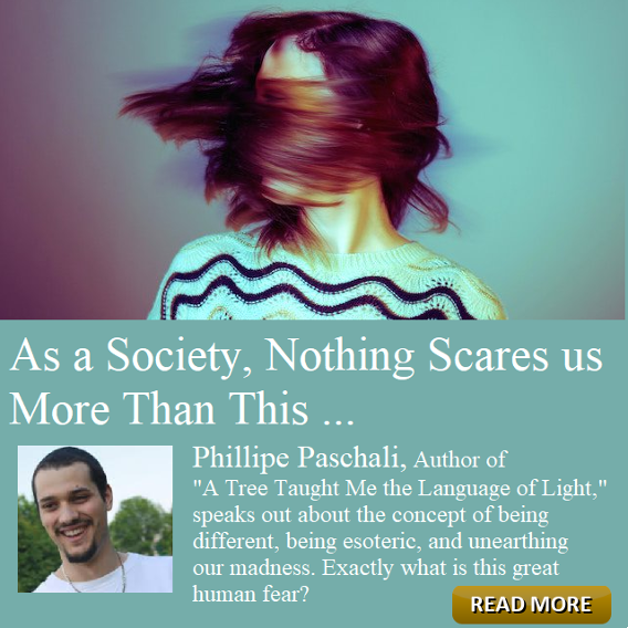 As a Society, Nothing Scares us More Than This by Philippe Paschali