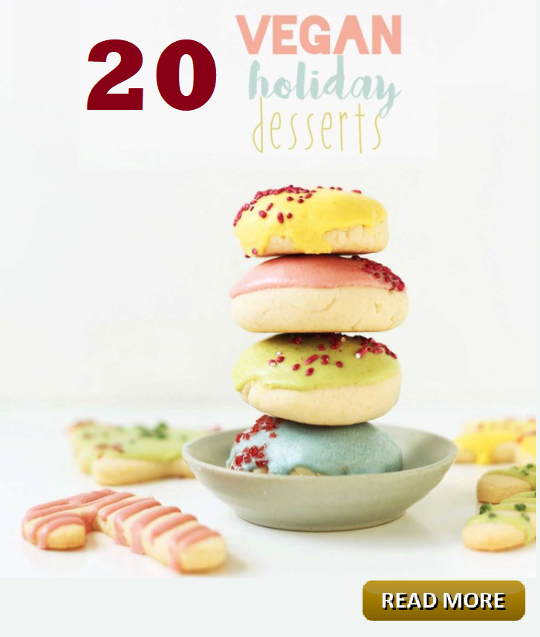 20 Vegan Holiday Desserts December Houston spirituality Magazine