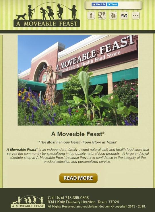 A Moveable Feast Health Food Store and Restaurant