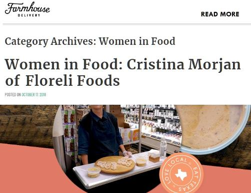 Women in Food Farmhouse Delivery