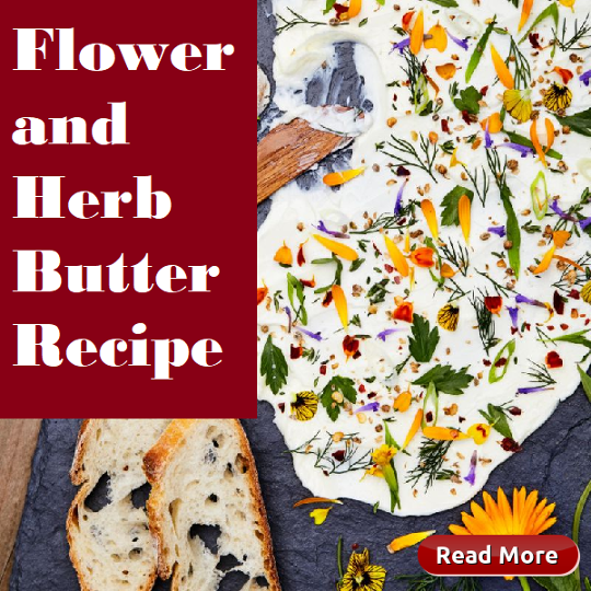 Flower and Herb Butter Recipe