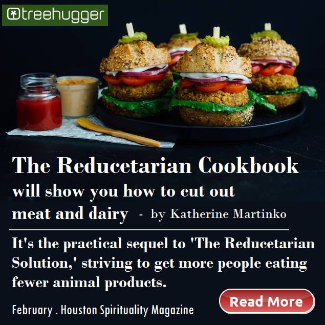 The Reducetarian Cookbook article from Treehugger