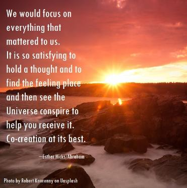 Esther Hicks Abraham on co-creation