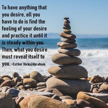 Esther Hicks Abraham on desire