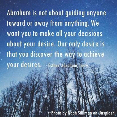 Esther Hicks/Abraham