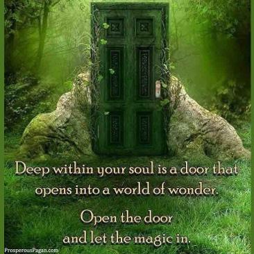 Shared by Trisah Keel Magic Door