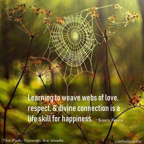 Weaving webs of love