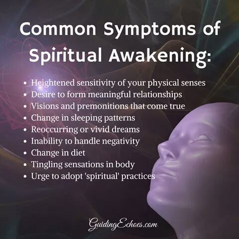Common symptoms of Spiritual Awakening