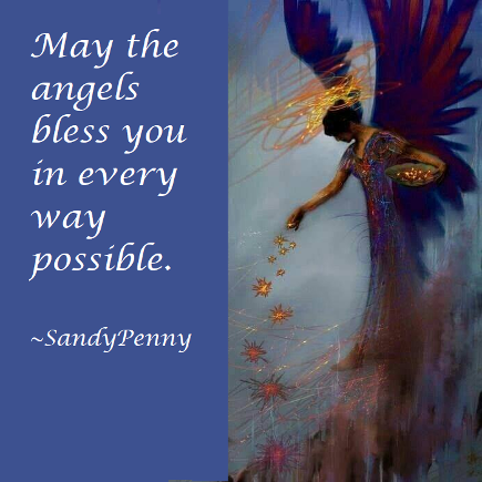 May the angels bless you in every way possible. link to angel cards