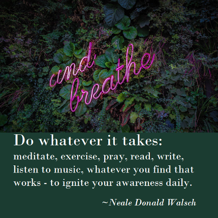 Neale Donald Walsch. Do whatever it takes. book link Conversations with God.