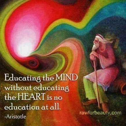 Educating the mind without educating the heart is no education at all. Rawforbeauty meme