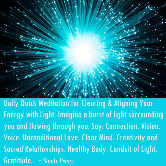 Daily Quick Meditation - Go to inspiration page