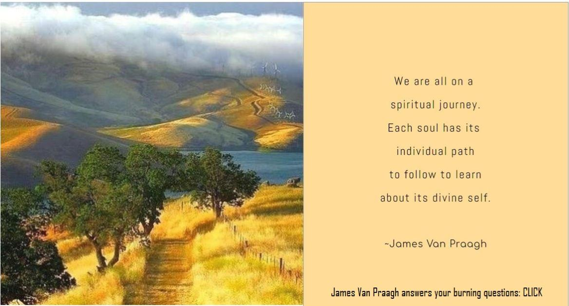 James Van Praagh answers your burning questions