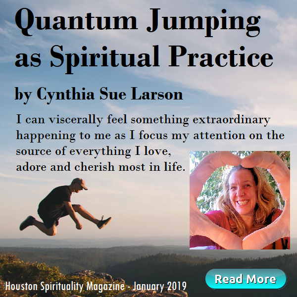 Quantum Jumping as Spiritual Practice