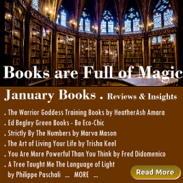 Books are Full of Magic, January Book List