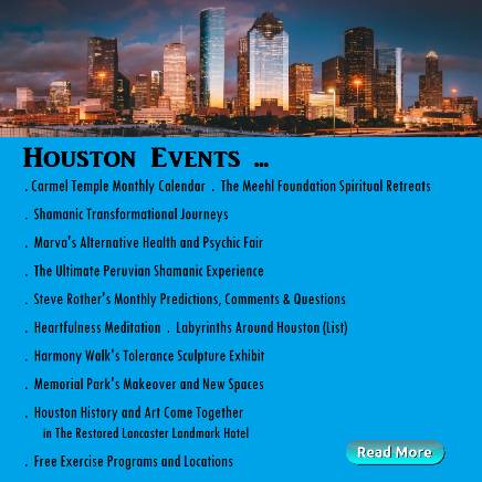 Houston Events for January Houston Spirituality Magazine