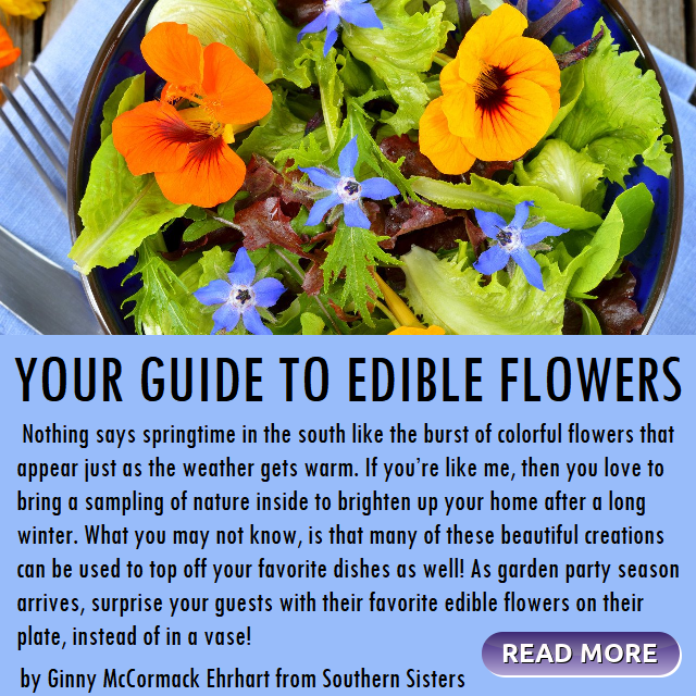 Your Guide to Edible Flowers