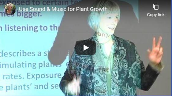 Music and Sound for Plant Growth . Jill Mattson