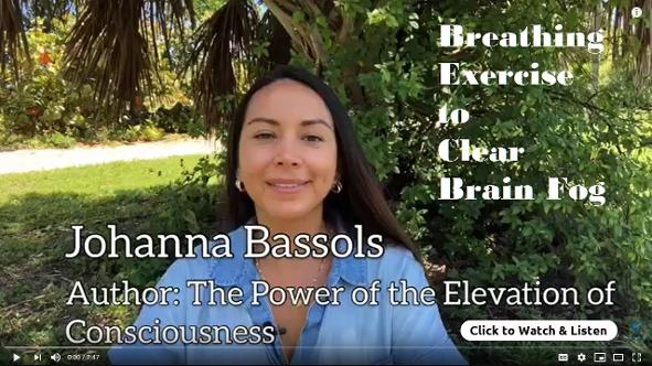 Johanna Bassols, Breathing Exercise to Clear Brain Fog . HSM Free Meditations