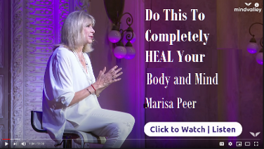 Do this to completley heal your body and mind.