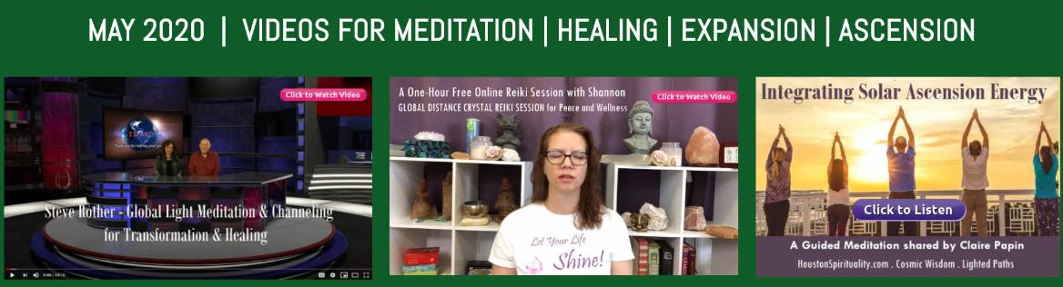 Free Meditation Videos for May 2020