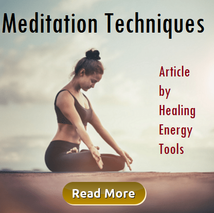 Meditation Techniques by Healing Energy Tools