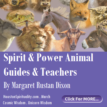 Spirit and Power Animal Guides and Teachers, HSM March Cosmic Wisdom, Unicorn Wisdom