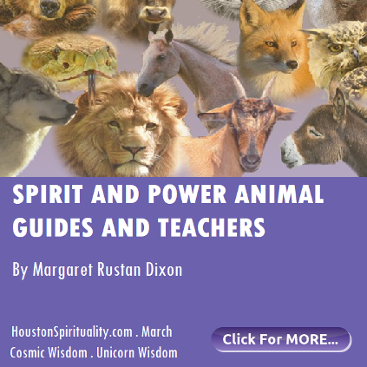 Spirit and Power Animal Guides and Teachers by Margaret Rustan