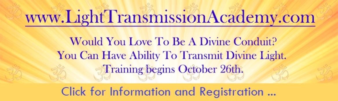Light Transmission Academy with Michele Blood 10-26