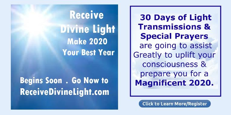 Receive Divine Light for 2020 by Michele Blood