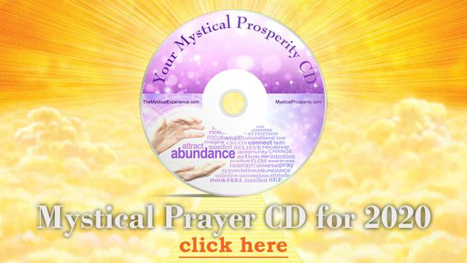 Mystical Prayer CD for 2020 by Michele Blood