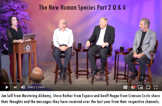 The New Human Species Part 2 Q & A