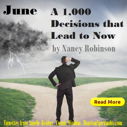June. A 1000 Decisions that Lead to Now by Nancy Robinson