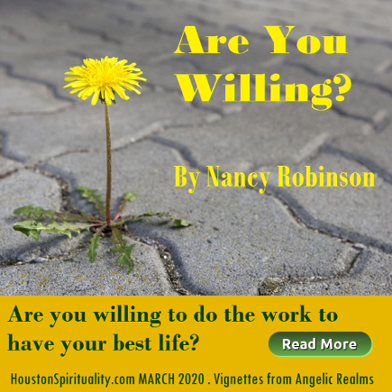 Are You Willing to Do the Work to Have Your Best Life by Nancy Robinson
