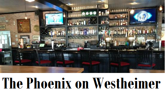 The Phoenix on Westheimer, a pub with great food.