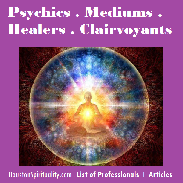 Psychics . Mediums . Healers . Clairvoyants Resource