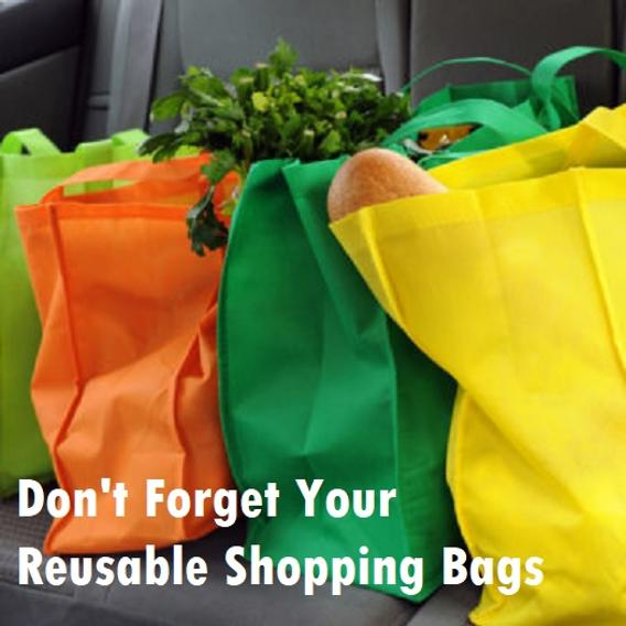 Reasons to switch to reusable shopping bags