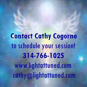 Contact cathy Cogorno to schedule your session! lightattuned.com