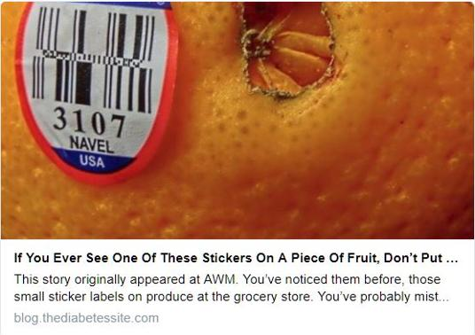 Produce Stickers Mean