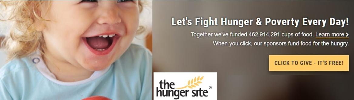 The Hunger Site, give for free