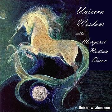 Unicorn Wisdom site link with Margaret Rustan Dixon