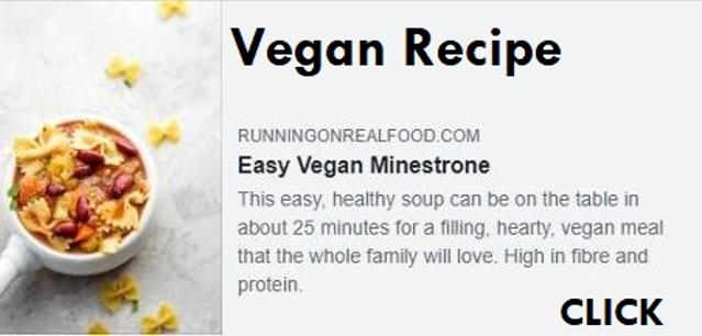 Recipe Easy Vegan Minestrone Soup